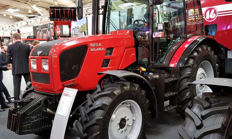'1 in every 10 tractors in the world is from Belarus'