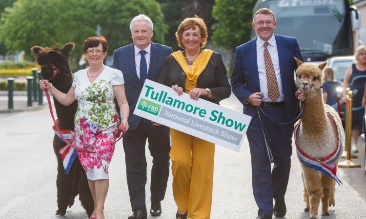 Tullamore Show set to draw 60,000 people and 1,000 exhibitors