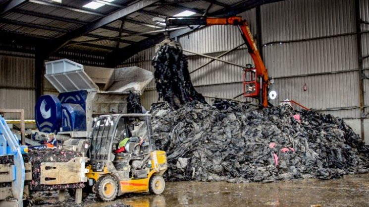 How many tonnes of silage plastic have been recycled in 2018?