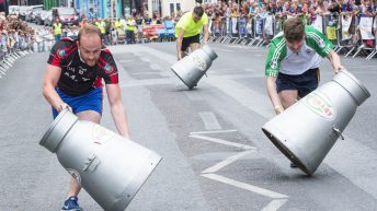 Good times 'rolled' at this year's All-Ireland milk churn finals