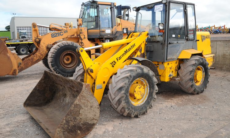 Auction report: Loaders and machinery go under the hammer in Tyrone
