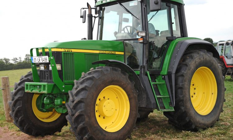 'Modern classic' catches the eye at Limerick tractor event
