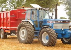 'Old-school' muscle at harvest demo in Co. Waterford