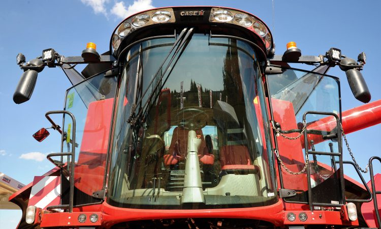 New Case IH combine suffers no 'sensory deprivation'