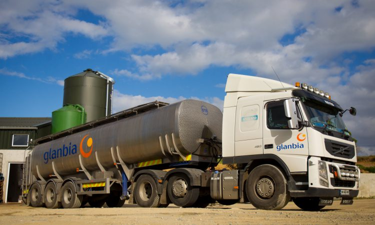Glanbia milk supply growth expected to be 8.5% in 2019
