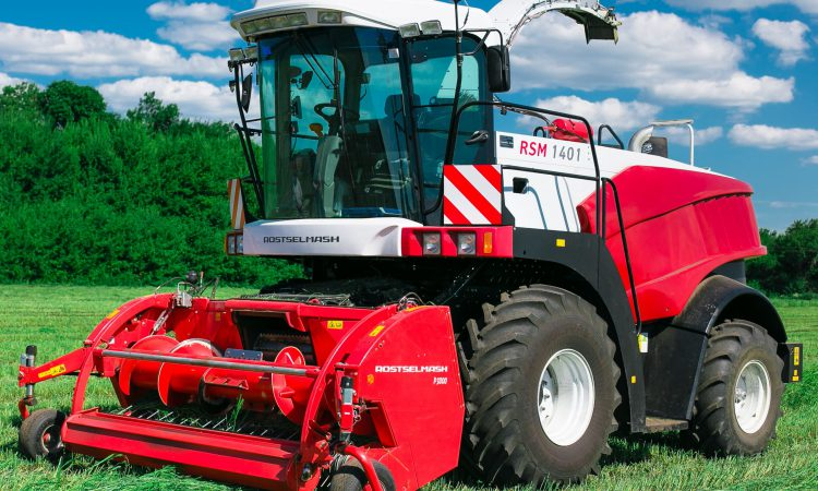 Russians look west – to boost self-propelled forage harvester sales