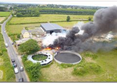 Video: 7 units needed to douse Limerick farm inferno