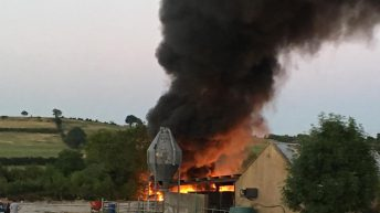 Cost of farm fires up by £1 million in Northern Ireland