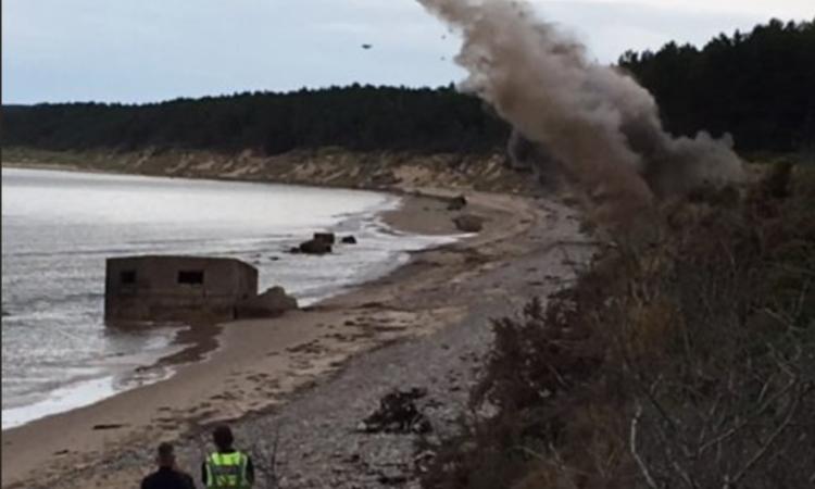 Live WWII explosive found on Scottish farm