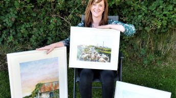Tuam artist 'fleeces' her subjects by 'painting with wool'