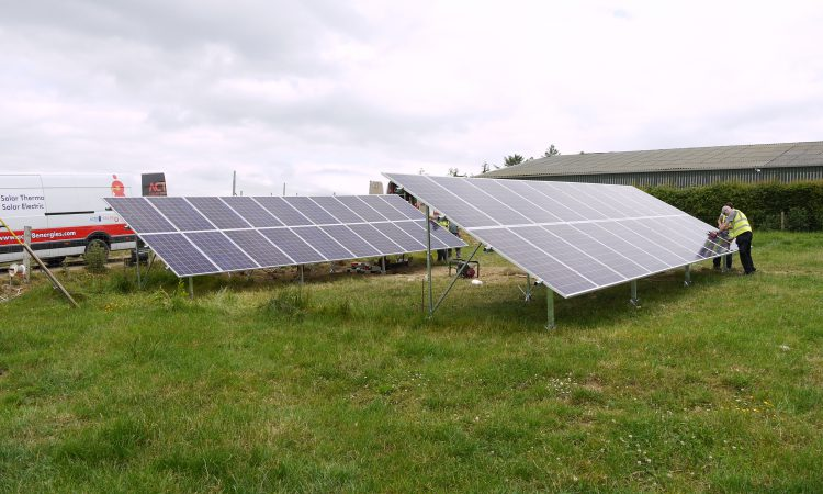 Cutting a dairy farm's electricity bill by 20% with solar