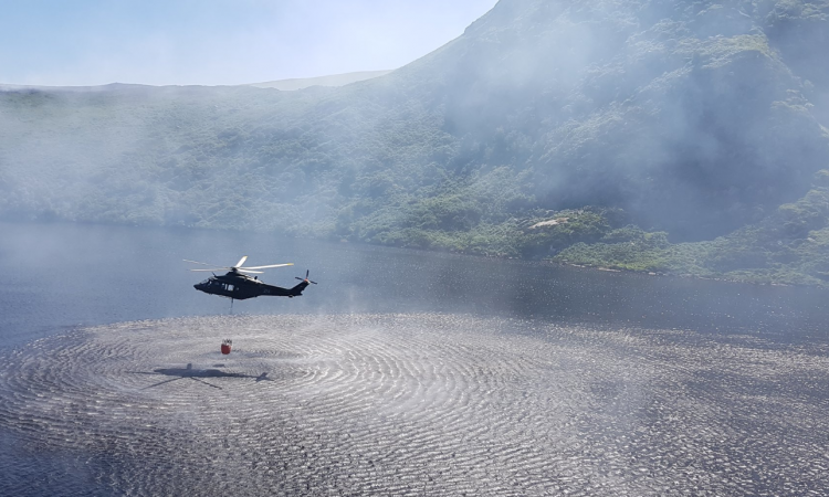 Irish Air Corps called in to assist with NI gorse blaze