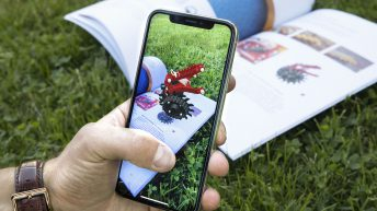 The machinery manufacturer's app that 'brings pictures to life'