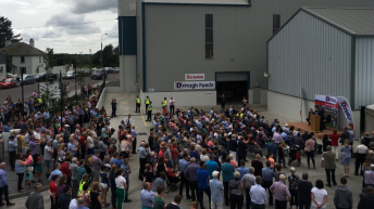 Taoiseach officially opens €3.75 million feed mill extension