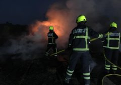 Machinery destroyed in latest of 4 farm arson attacks