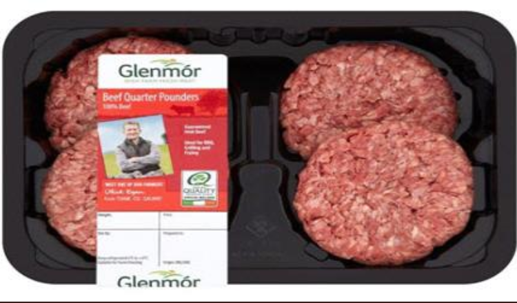 Labelling mishap leads to recall of burgers