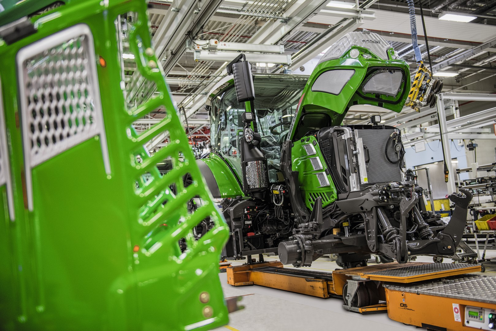 'Whole new experience' for visitors to Fendt factory