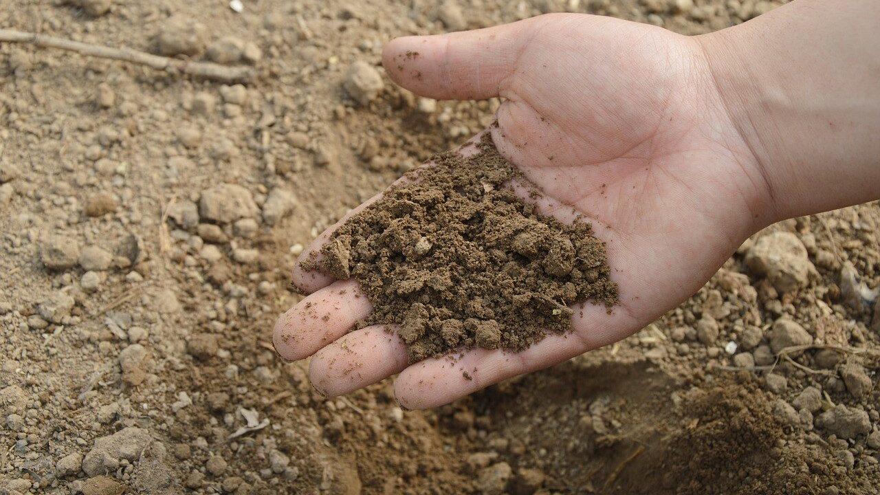 Soil moisture deficit improving slightly