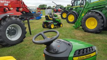 Pics: Machinery polished and ready for Tullamore Show