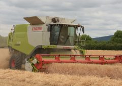 How many new combines were sold in Ireland in 2018?