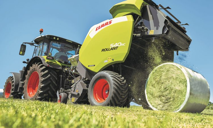 Claas 'rolls' out stronger Rollant; see what's beefed up