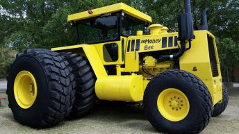 500hp on tap: Who said that big 2WD tractors were dead?