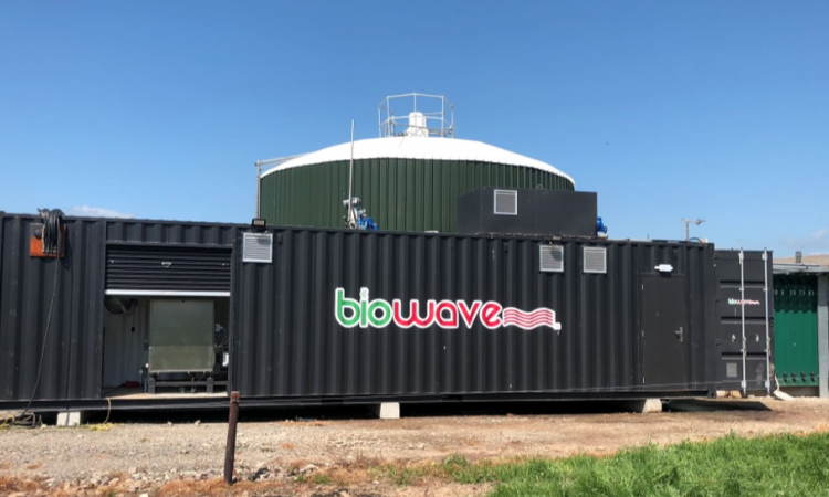Microwave technology set to boost on-farm biogas production