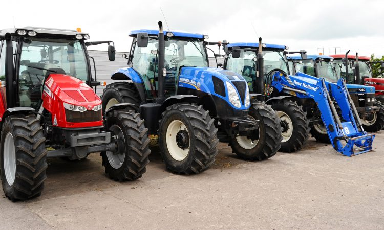 Which tractor brand is most popular in Ireland?