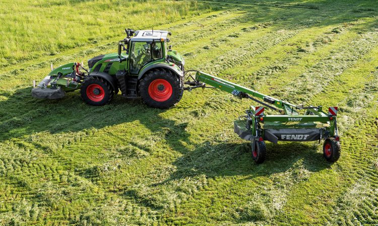 New trailed, centre-pivot mowers…from Fendt