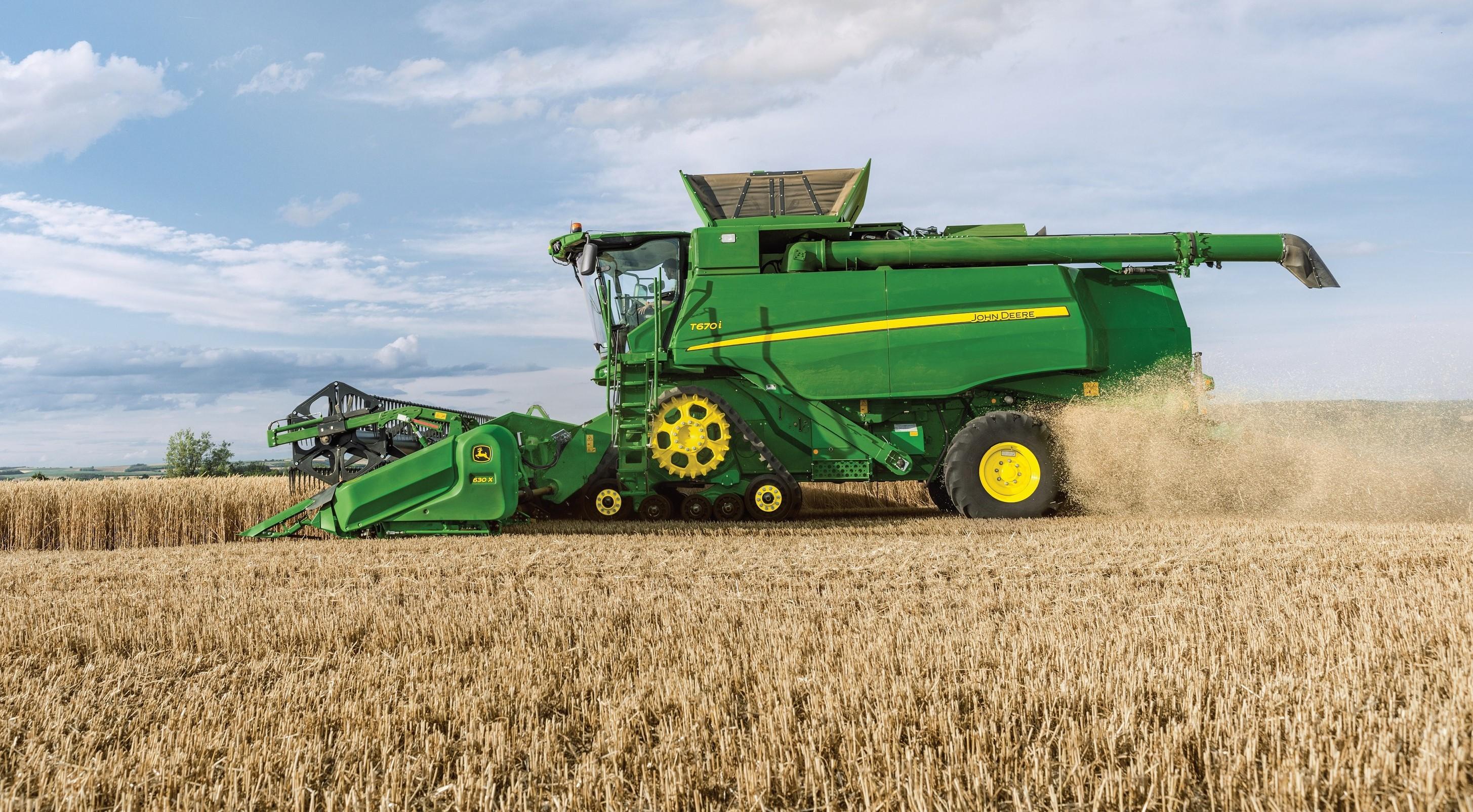 John Deere Combine >> John Deere Revamps Its Smaller Sampo Built Combines Agriland Ie