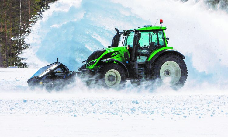 Video: 'Unmanned' Valtra sets new speed record in frosty Finland