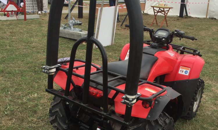 ATV accidents spark inspiration for new quad attachment