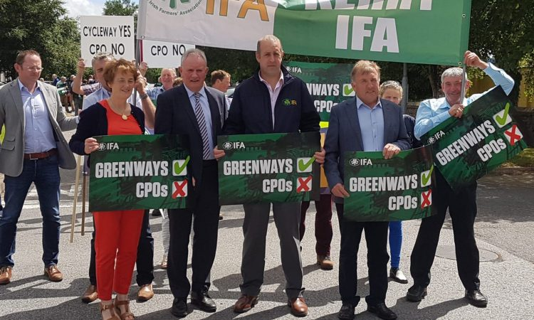 Cavan authorities rule out use of CPOs in greenway project