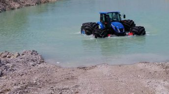 Walking on water: New meaning for 'floatation' tyres