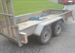 Gardai search for owner of recovered trailer