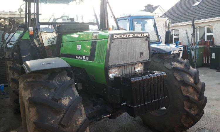 Tractor stolen in overnight raid in Co. Kildare