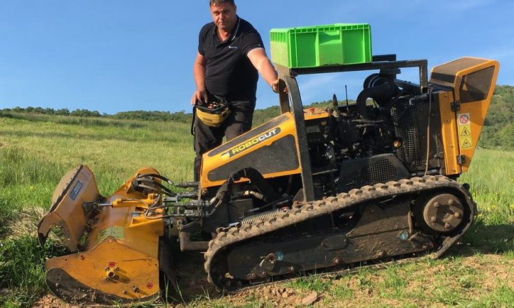 Meet the mini monster 'tank' tackling Scotland's gorse fires