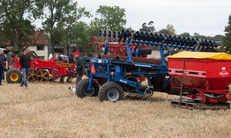 Auction report: Ploughs, presses and drills go under the hammer