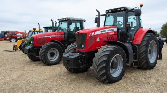Auction report: Modern MF and John Deere tractors change hands
