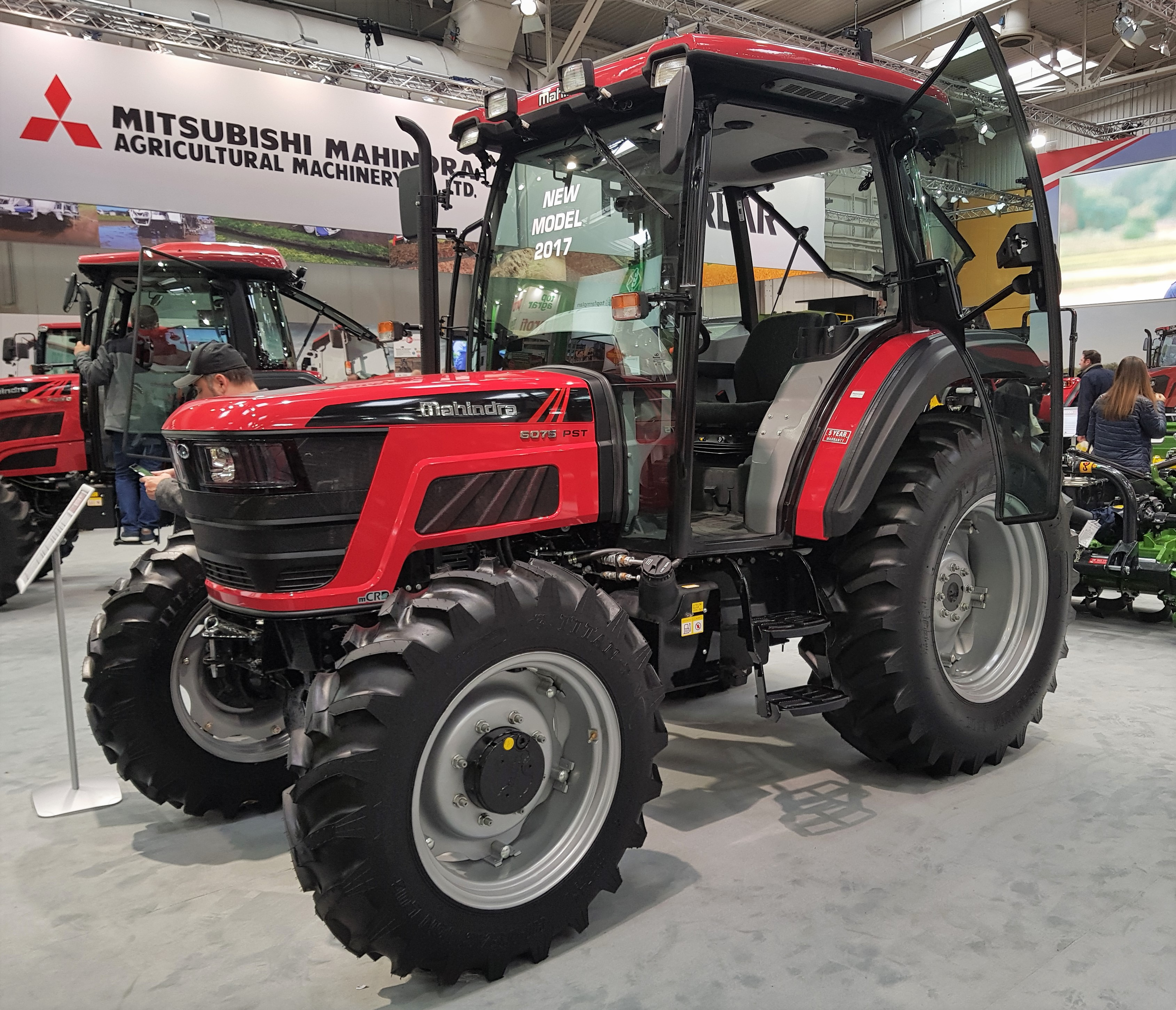 Mahindra tops Indian tractor back-up service poll, beating