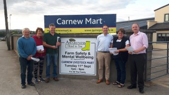 'Grown men shed tears': Carnew mart's Awareness Head to Toe