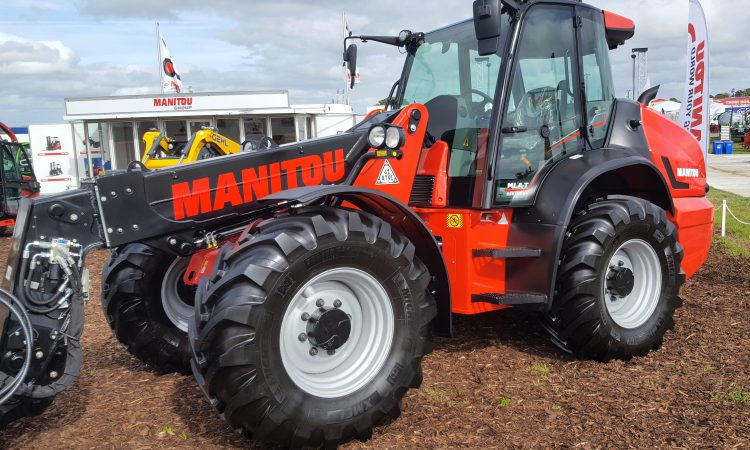 Loaders lined up and on-site at 'Ploughing 2018'