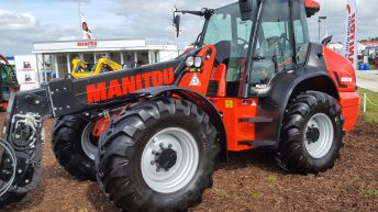 'Ploughing 2018': New-look telehandler from Manitou touches down