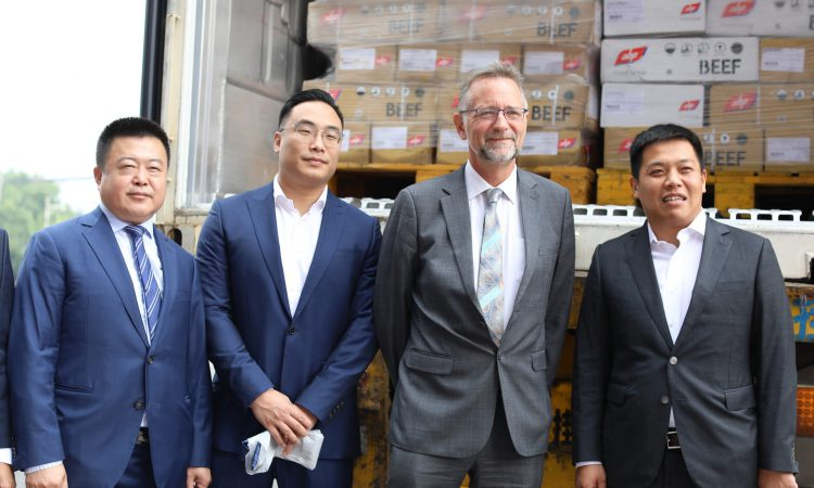 First 25t container of Irish beef reaches China
