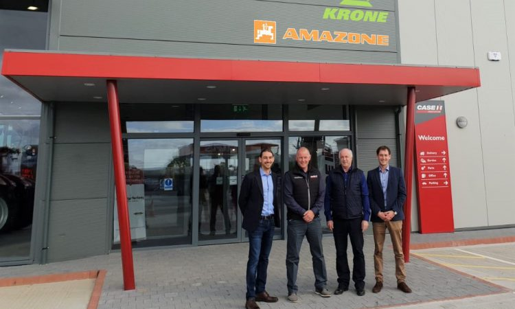 New Krone and Amazone dealer in the south-east