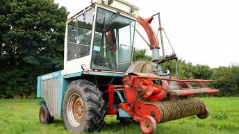 Classic corner: A self-propelled forage harvester with a difference…in Co. Cork