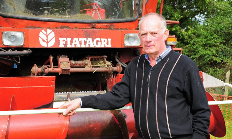 Classic corner: Firmly with Fiatagri…for self-propelled harvesters