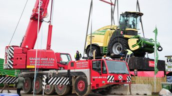 'Ploughing 2018': The crane is back; the forager's going up again…