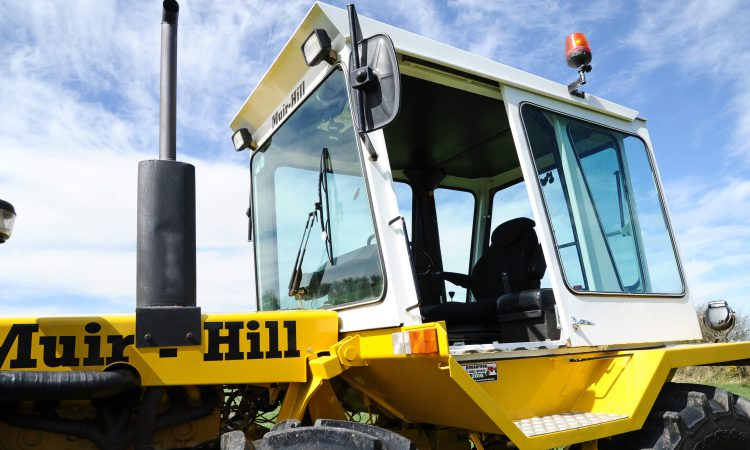 Muir-Hill tractors head for Mount Melleray silage event…this weekend