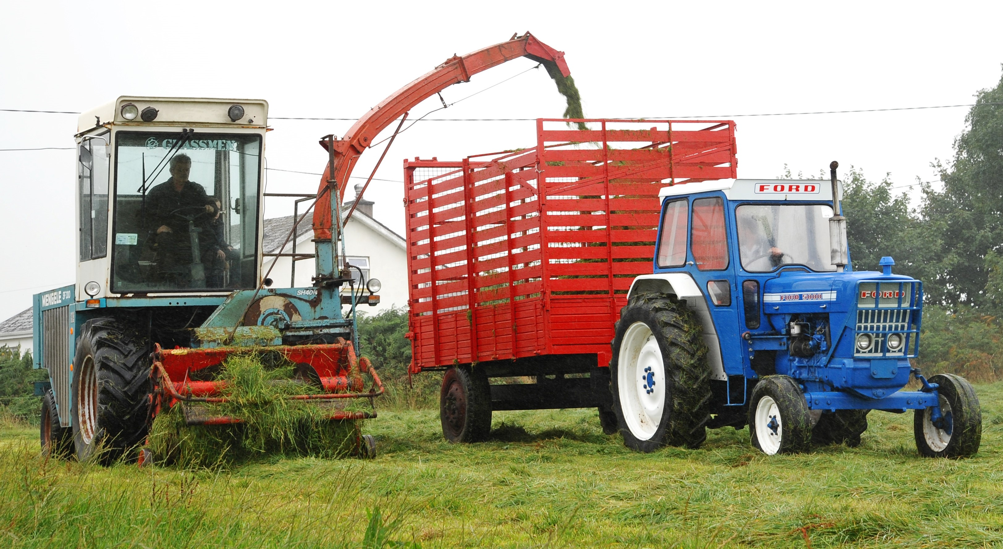 Classic corner: A self-propelled forage harvester with a difference